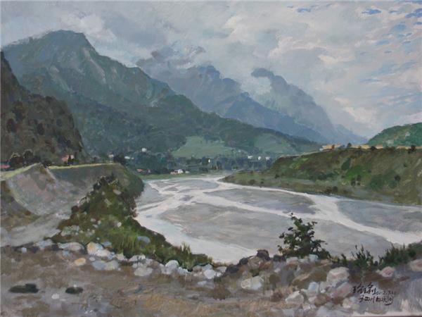 白水河系列之大河滩